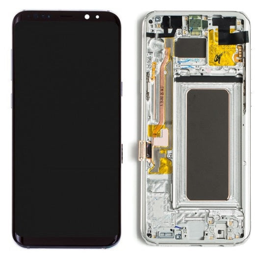 Samsung S8 LCD Assembly With Frame ( Oem Pulls / Grade C )
