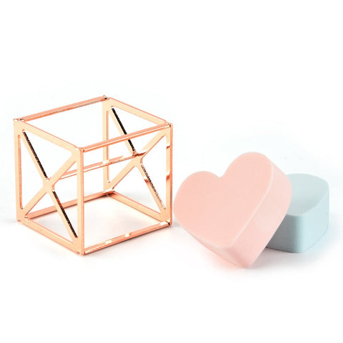 Gold Beauty Blender Rack