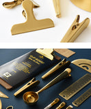 Gold Office Clips