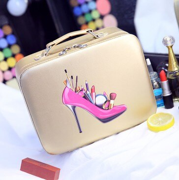 High Heel Make Up Case