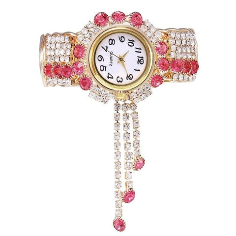 Neema- rhinestone jewelry watch
