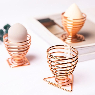 Rose Gold Beauty Blender Holder