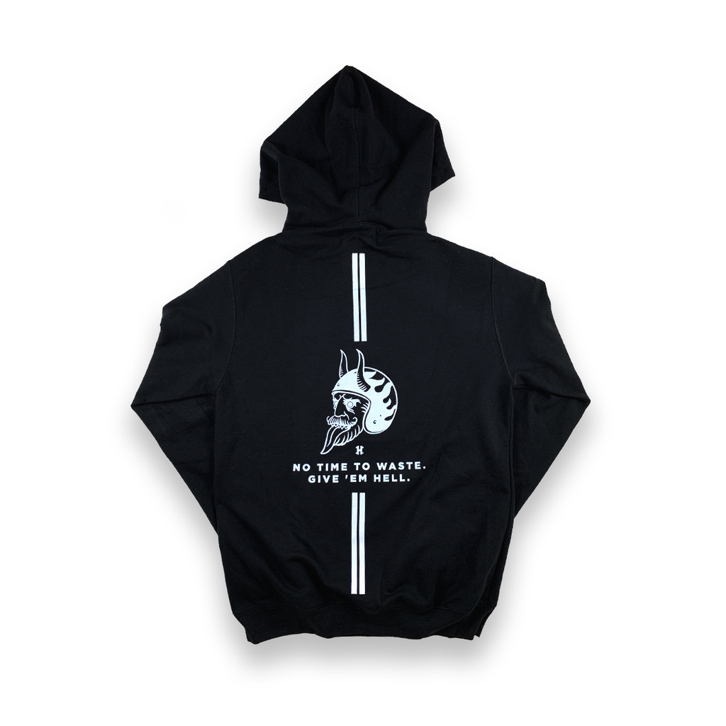 Classic Hoodie - No time to waste
