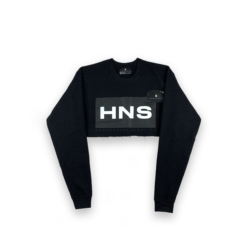 CropTop Sweatshirt - Adrenaline Highlife