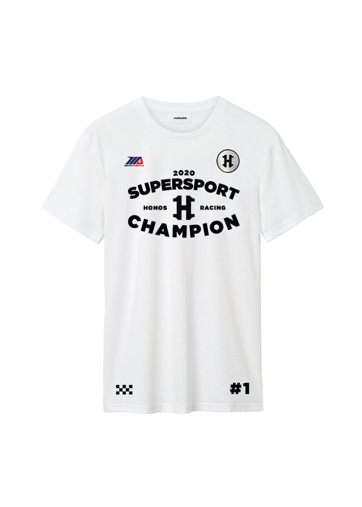 White | 2020 Supersport Champion T-Shirt