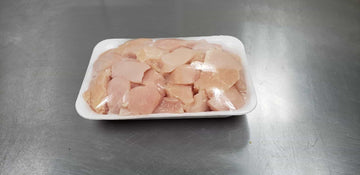 Boneless Chicken Breast Cubes