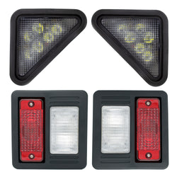 Front LED & Standard Rear Light Kit For Bobcat | DURAFORCE INC