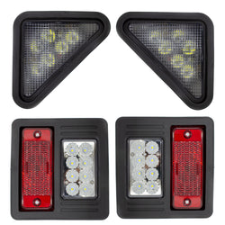 Front & Rear LED Light Kit For Bobcat | DURAFORCE INC