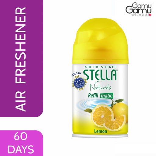 Stella Matic Lemon Refill |60 Days,Home Care - GamuGamu.lk