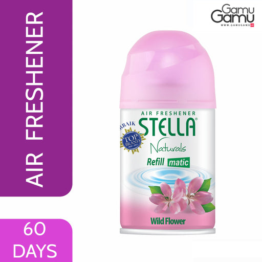 Stella Matic Wild Flower Refill | 60 Days,Home Care - GamuGamu.lk