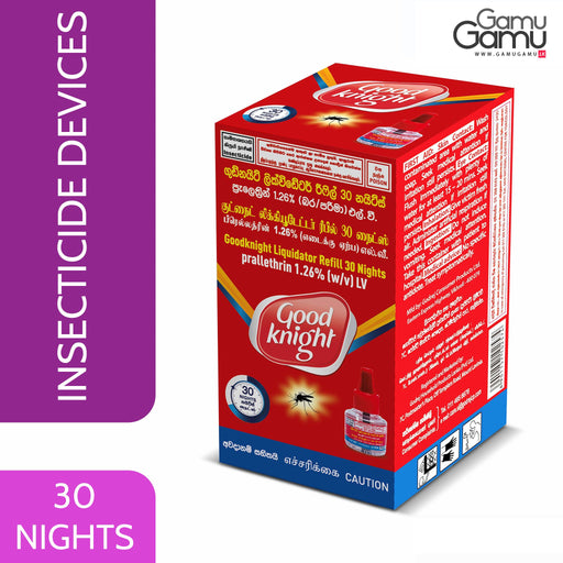 Good Knight Liquidator Refill | 30 Nights,Home Care - GamuGamu.lk