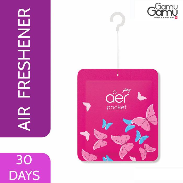 Aer Pocket - Petal Crush Pink | 30 Days,Home Care - GamuGamu.lk