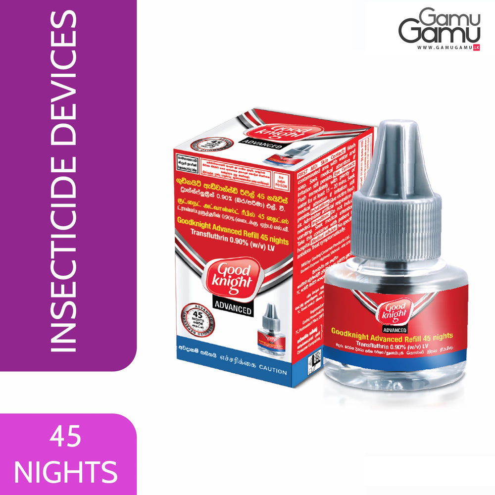 Good Knight Liquidator Advanced Refill | 45 Nights,Home Care - GamuGamu.lk
