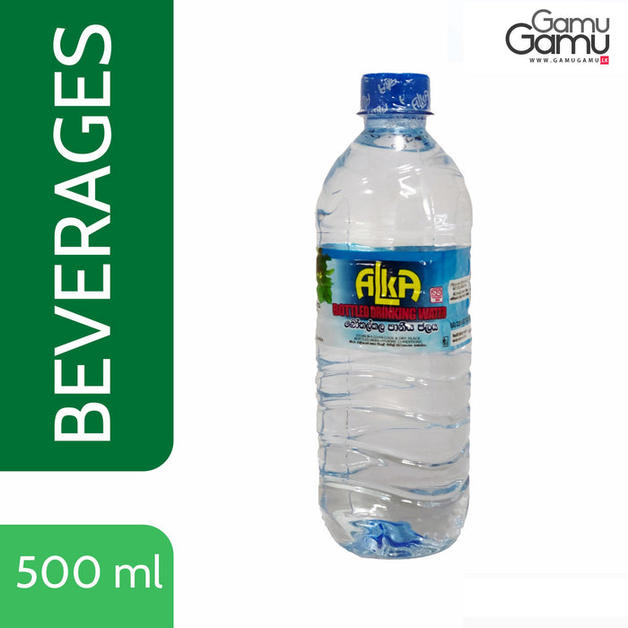 Bottled Drinking Water | 500 ml,Foods, Alka - gamugamu.lk