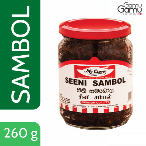 Seeni Sambol (Ready-to-eat) | 260 g,Foods - GamuGamu.lk