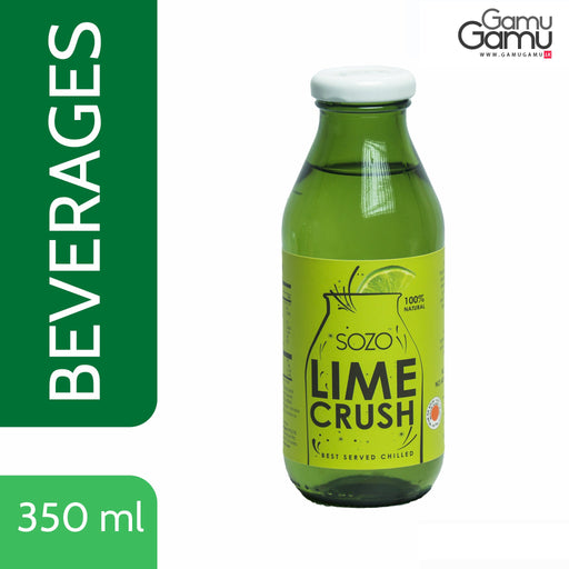 SOZO Lime Crush Gourmet Nectar | 350 ml,Foods - GamuGamu.lk