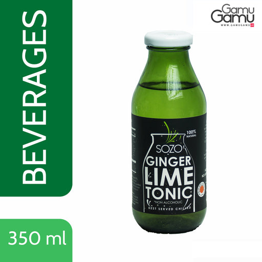 SOZO Ginger Lime Tonic | 350 ml,Foods - GamuGamu.lk