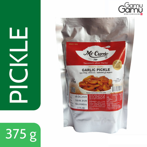 Garlic Pickle (Vacuum Pack) | 375 g,Foods - GamuGamu.lk