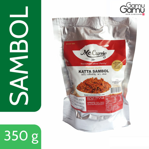 Katta Sambol (Ready-to-eat, Vacuum Pack) | 350 g,Foods - GamuGamu.lk