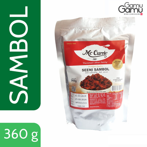 Seeni Sambol (Ready-to-eat, Vacuum Pack) | 360 g,Foods - GamuGamu.lk