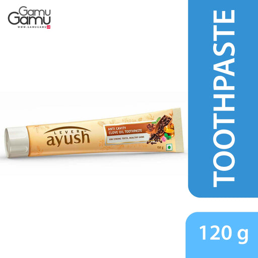 Ayush Anti Cavity Clove Oil Toothpaste | 120 g,Personal Care - GamuGamu.lk