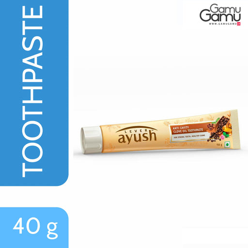 Ayush Anti Cavity Clove Oil Toothpaste | 40 g,Personal Care - GamuGamu.lk