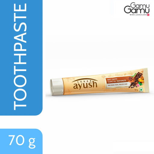 Ayush Anti Cavity Clove Oil Toothpaste | 70 g,Personal Care - GamuGamu.lk