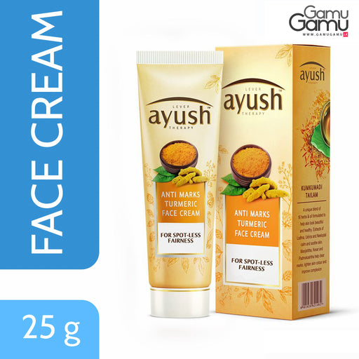 Ayush Anti Marks Turmeric Face Cream | 25 g,Personal Care - GamuGamu.lk