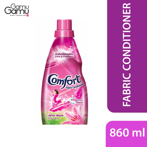 Comfort After Wash Lily Fresh Fabric Conditioner (Pink) | 860 ml,Home Care - GamuGamu.lk