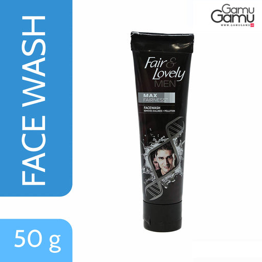 Fair & Lovely Max Fairness Face Wash for Men | 50 g,Personal Care - GamuGamu.lk