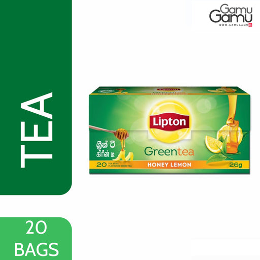 Lipton Green Tea Honey Lemon | 20 Bags,Foods - GamuGamu.lk