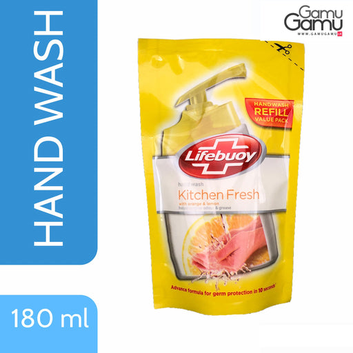 Lifebuoy Kitchen Fresh Hand Wash Refill | 180 ml,Personal Care - GamuGamu.lk