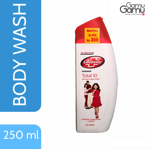 Lifebuoy Total 10 Body Wash | 250 ml,Personal Care - GamuGamu.lk