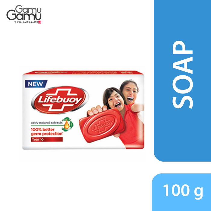 Lifebuoy Total 10 Soap | 100 g,Personal Care, Unilever - gamugamu.lk