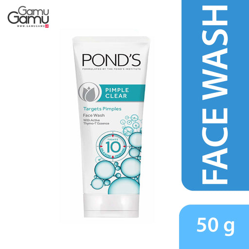 Pond's Pimple Clear Face Wash | 50 g,Personal Care - GamuGamu.lk