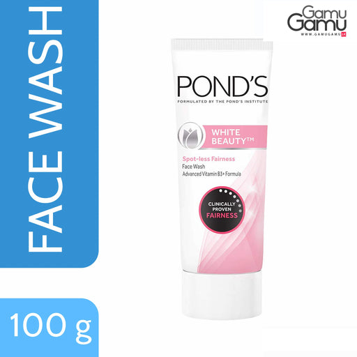 Pond's White Beauty Spot Less Fairness Face Wash | 100 g,Personal Care, Unilever - gamugamu.lk