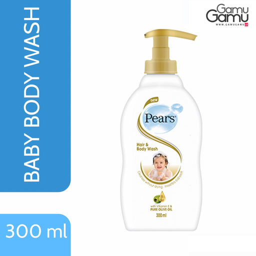 Pears Baby Hair & Body Wash | 300 ml,Personal Care - GamuGamu.lk