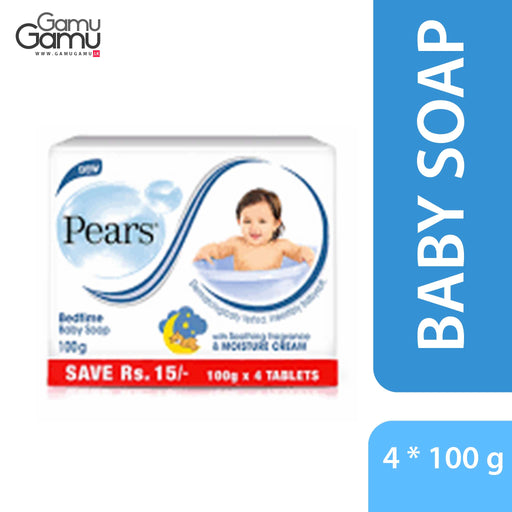 Pears Bed Time Baby Soap | 4 x 100 g,Personal Care - GamuGamu.lk