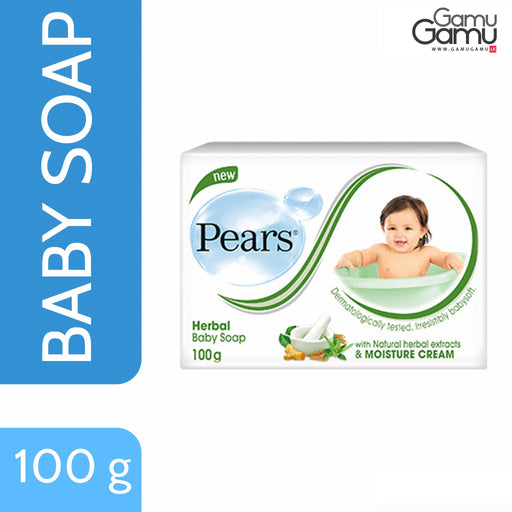 Pears Herbal Baby Soap | 100 g,Personal Care - GamuGamu.lk
