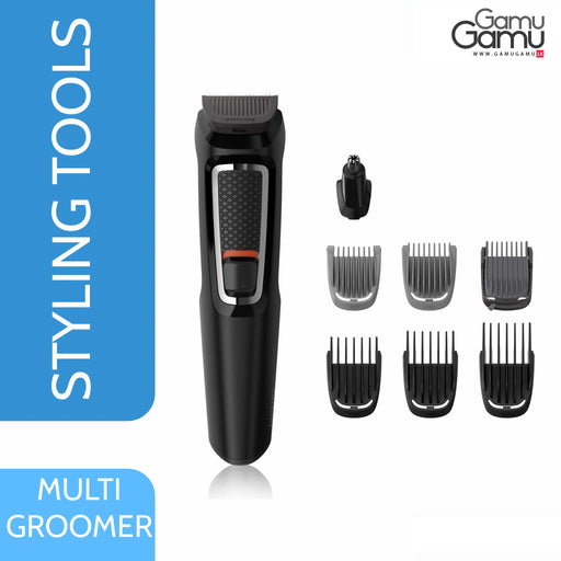 Philips Multi-Grooming Set (8-in-1 trimmer) | MG3730,Personal Care - GamuGamu.lk
