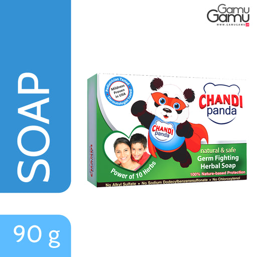 Chandi Panda Germ Fighting Soap | 90 g,Personal Care, Nature's Secrets - gamugamu.lk