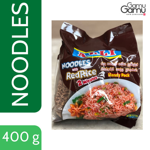 Alli Noodles with Red Rice | 400 g,Foods, Alli - gamugamu.lk