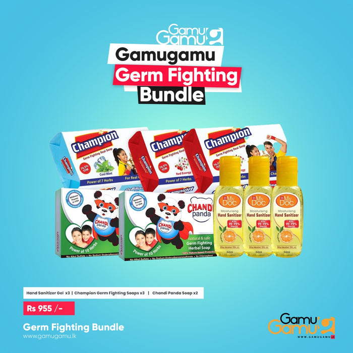 Germ Fighting Bundle,Essential Bundles, GamuGamu.lk - gamugamu.lk