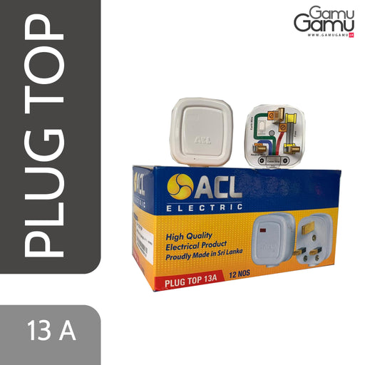 ACL Electric Plug Top | 13A-GamuGamu.lk
