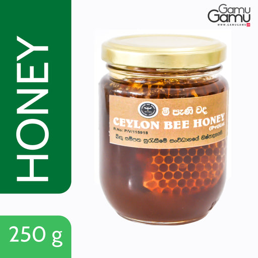 Ceylon Bee Honey with Bee Honey Comb | 250 g,Foods - GamuGamu.lk