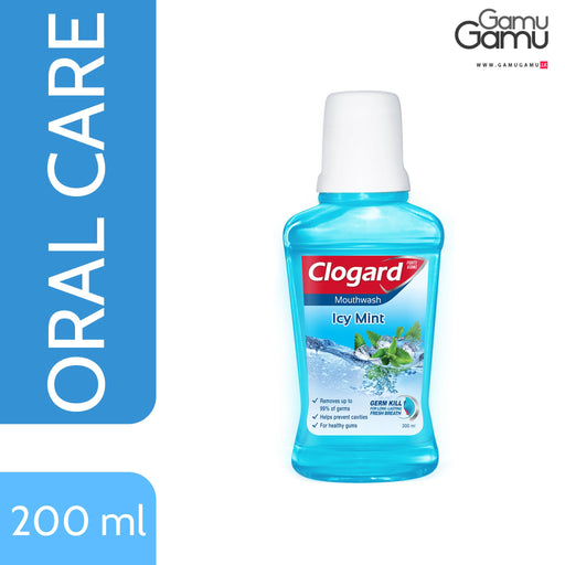 Clogard Icy Mint Mouth Wash | 200 ml -GamuGamu.lk