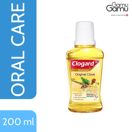 Clogard Original Clove Mouth Wash | 200 ml -GamuGamu.lk