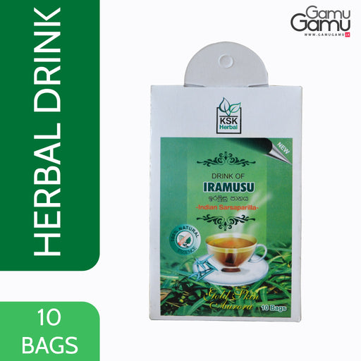 KSK Herbal Drink of Iramusu | 10 Bags,Foods - GamuGamu.lk