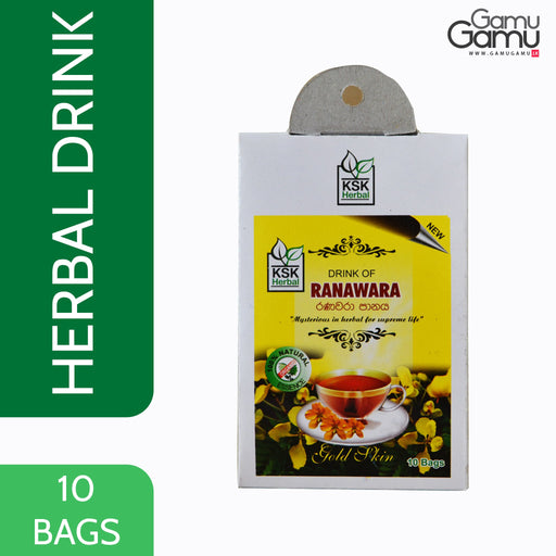 KSK Herbal Drink of Ranawara | 10 Bags,Foods - GamuGamu.lk