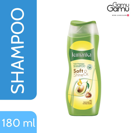 Kumarika Soft & Shine Hair Therapy Shampoo | 180 ml -GamuGamu.lk